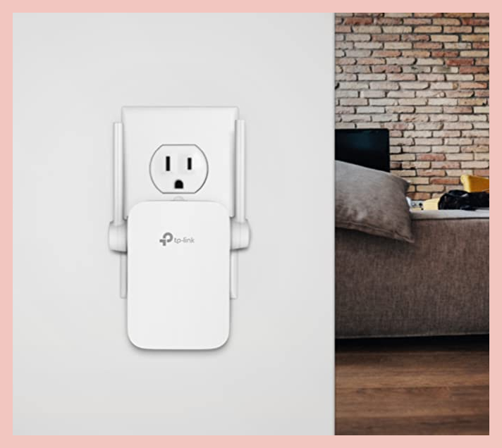 This TP-Link N300 Wi-Fi Extender for $18. (Photo: TP-Link)