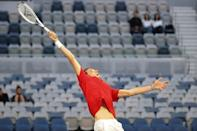 Russia's Daniil Medvedev has been knocking on the door for his first Grand Slam win