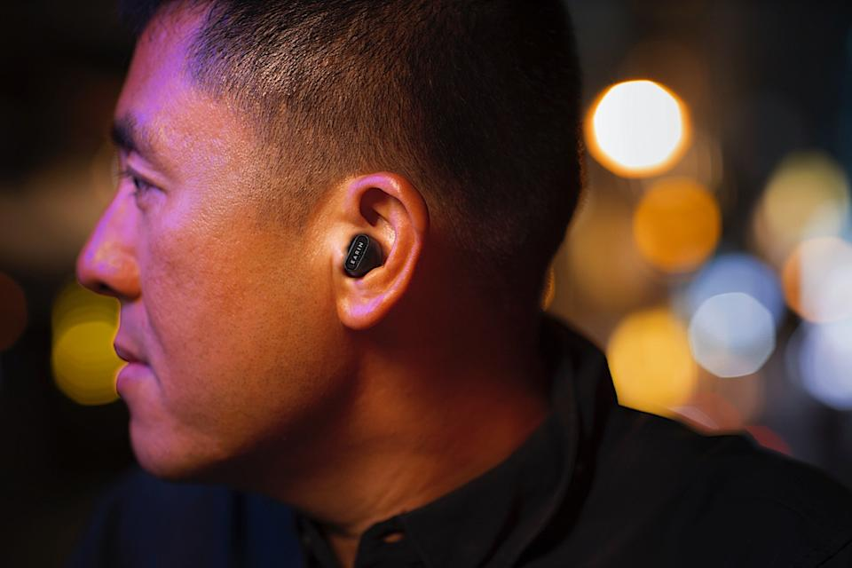 Earin's third-generation true wireless earbuds feature an open design and a host of handy features for $199.