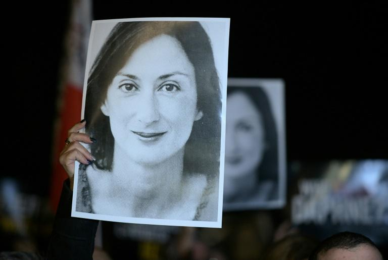 Journalist Daphne Caruana Galizia was killed in a car bomb in October 2017 after exposing high-level corruption in Malta