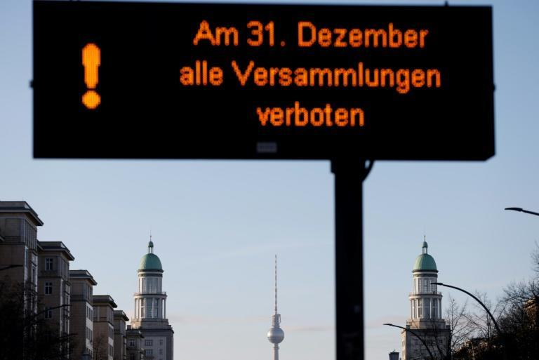 Germany has banned New Year's Eve gatherings