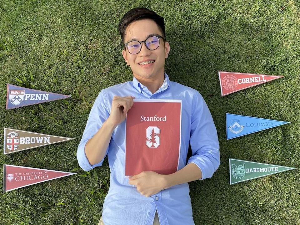 Ivan Avannus is over the moon to have been accepted into seven top universities in the world. — Picture by Ivan Avannus Jacob Jimbangan