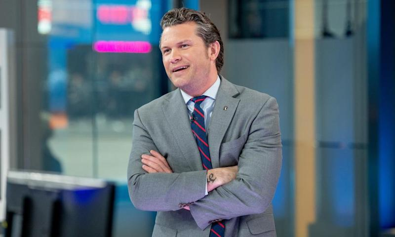Pete Hegseth: 'I don't really wash my hands ever.'