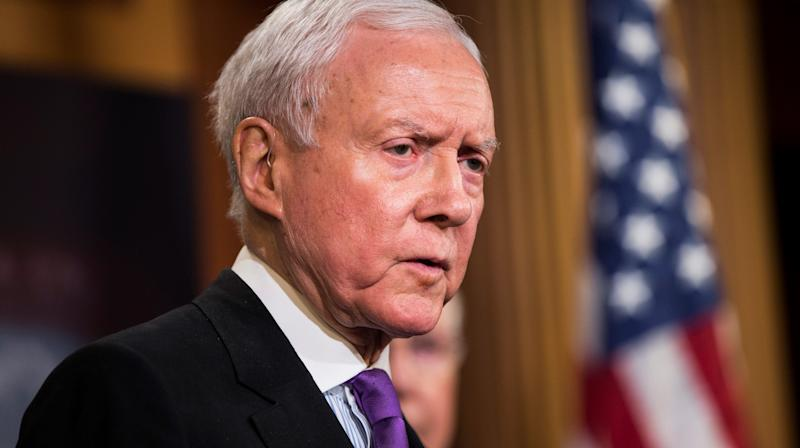 Orrin Hatch Thinks John McCain's Wish For A Funeral Without Donald Trump Is 'Ridiculous'