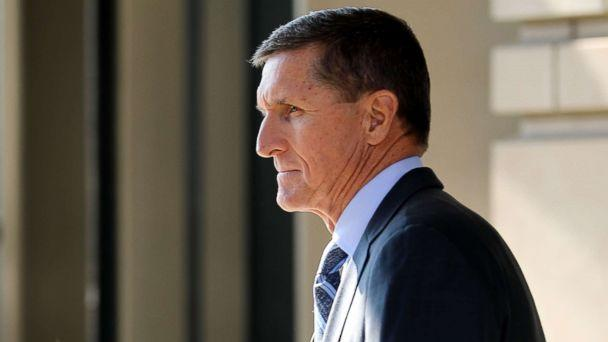 PHOTO: Michael Flynn, former national security adviser to President Donald Trump, leaves following his plea hearing at the Prettyman Federal Courthouse Dec. 1, 2017 in Washington. (Chip Somodevilla/Getty Images)