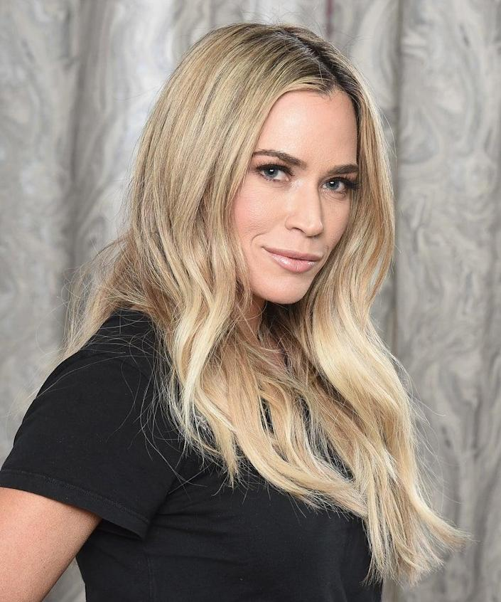 NEW YORK, NEW YORK – MARCH 06: Reality TV star and entrepreneur Teddi Mellencamp Arroyave visits the Build Brunch to discuss 'The Real Housewives of Beverly Hills' and the personal accountability coaching initiative 'All In by Teddi' at Build Studio on March 06, 2019 in New York City. (Photo by Gary Gershoff/Getty Images)