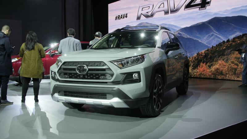 Watch Toyota Reveal The All New Rav4 In New York