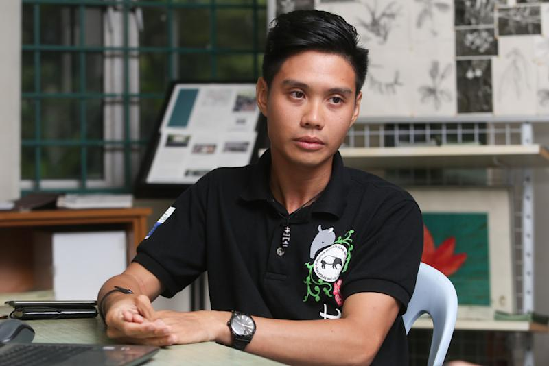 Malaysian Nature Society wildlife research assistant, Woo Chee Yoong, speaks to Malay Mail in Kuala Lumpur October 5, 2019. — Picture by Choo Choy May