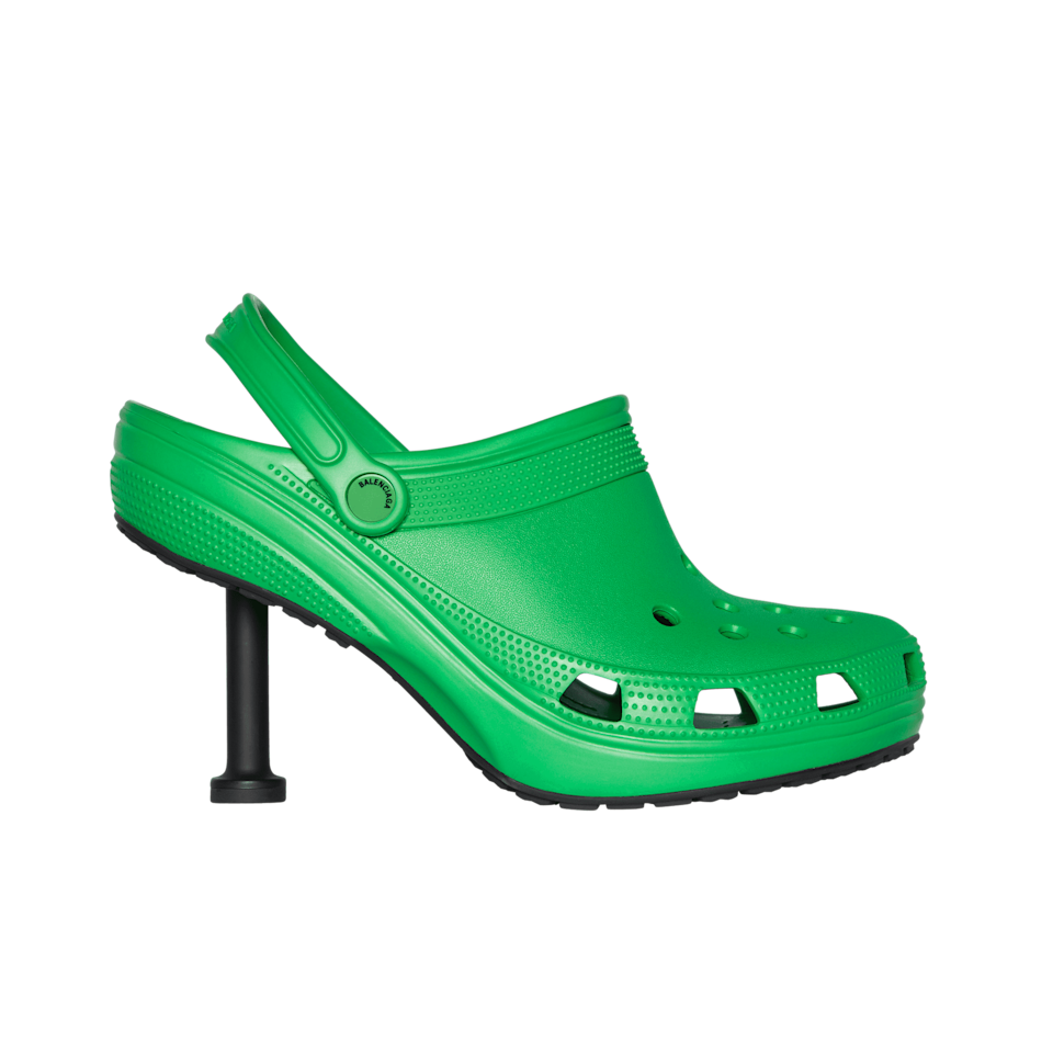 People Are Really Mad About the New Balenciaga Crocs, but I'm Not Afraid of an Ugly Shoe