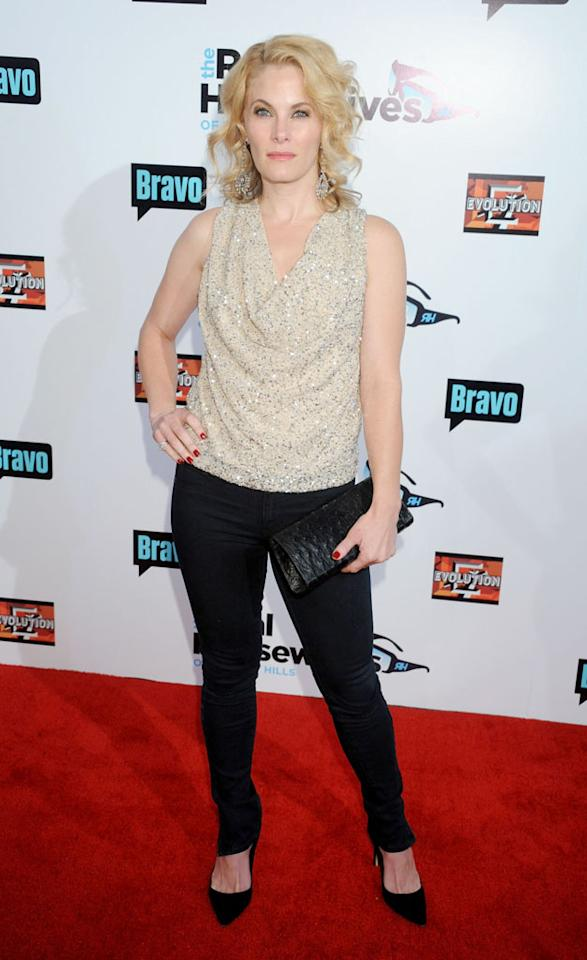 """Marisa Zanuck arrives at """"The Real Housewives Of Beverly Hills"""" Season 3 premiere party at the Hollywood Roosevelt Hotel on October 21, 2012 in Hollywood, California."""