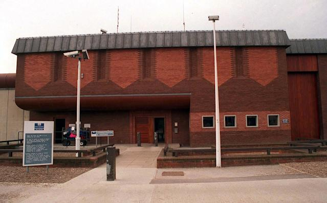 Huckle was serving 22 life sentences at HMP Full Sutton, East Yorkshire, after being convicted at the Old Bailey in 2016 (PA)