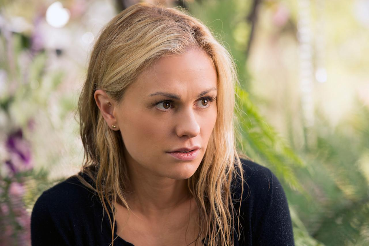 "Anna Paquin in the ""True Blood"" Season 6 episode, ""Don't You Feel Me."""