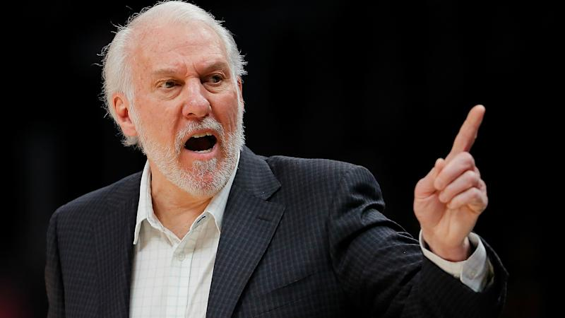 San Antonio Spurs' Gregg Popovich prefers Adam Silver's leadership to Trump's