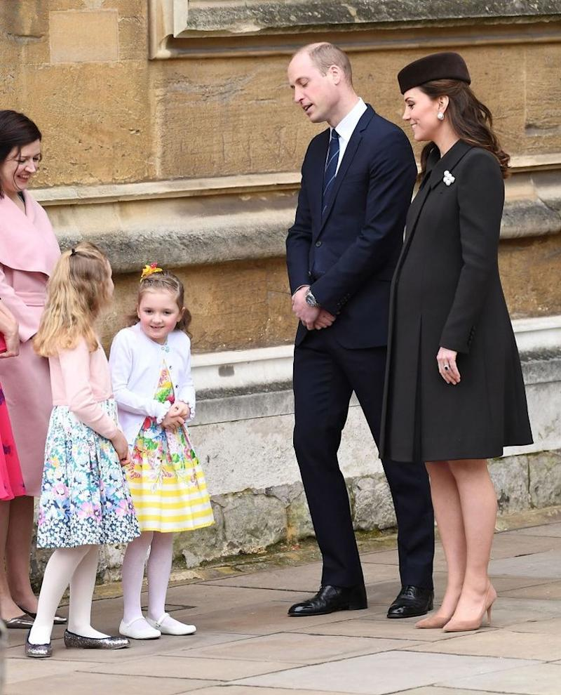 Prince William and Kate Middleton on Easter 2018   Karwai Tang/WireImage
