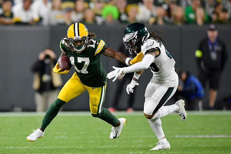 Davante Adams is a tough receiver to replace for the Packers. (Photo by Quinn Harris/Getty Images)