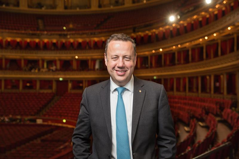 Royal Albert Hall chief executive Craig Hassall