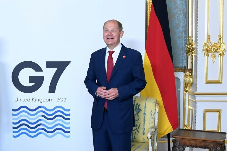 """German finance minister Olaf Scholz said it was the """"right time"""" for a global tax deal"""