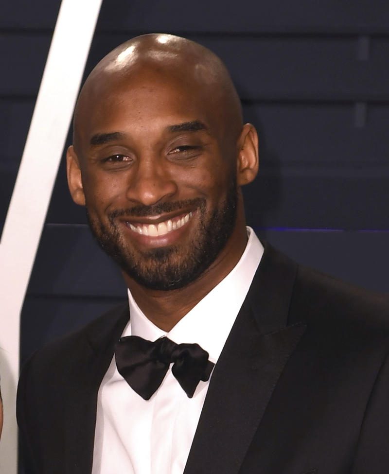 BEVERLY HILLS, CALIFORNIA - FEBRUARY 24: Kobe Bryant attends 2019 Vanity Fair Oscar Party at Wallis Annenberg Center for the Performing Arts on February 24, 2019 in Beverly Hills, California. Photo: imageSPACE /MediaPunch /IPX