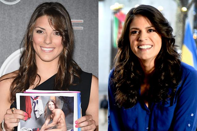 <p>U.S. women's hockey player and gold medalist Hilary Knight bears a strong resemblance with SNL cast member Cecily Strong. The two brunettes are both Illinois natives—Knight grew up in Lake Forest, and Strong was raised in Oak Park. </p>