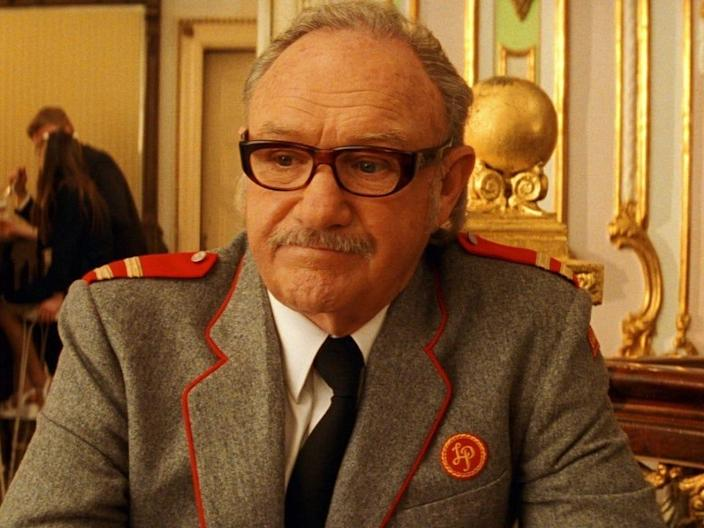 """Royal Tenenbaum (Gene Hackman) sits at a table in an ice cream parlor in """"The Royal Tenenbaums."""""""