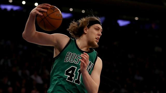 He didn't have the biggest numbers on the day, but reserve big man Kelly Olynyk rescued Boston from a woeful start in Game 1.