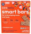 "<p><strong>Cerebelly</strong></p><p>amazon.com</p><p><strong>4.99</strong></p><p><a href=""https://www.amazon.com/dp/B08F8L118B?tag=syn-yahoo-20&ascsubtag=%5Bartid%7C10063.g.36163703%5Bsrc%7Cyahoo-us"" rel=""nofollow noopener"" target=""_blank"" data-ylk=""slk:Shop Now"" class=""link rapid-noclick-resp"">Shop Now</a></p><p>Another good bar option is Cerebelly Smart Bars, which are made with 10 brain-supporting and veggie-based nutrients, whole grains, clean ingredients, and enough protein and fiber to keep your toddler full for a while. They have a great flavor and are small enough for a little belly.</p>"