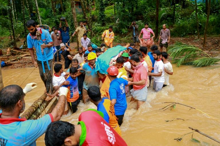 Kerala has been hit by deadly floods in August 2019