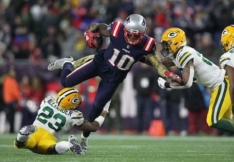 <span>Josh Gordon went for 130 yards and a touchdown against the Packers</span> <span>Credit: Stew Milne/USA Today </span>