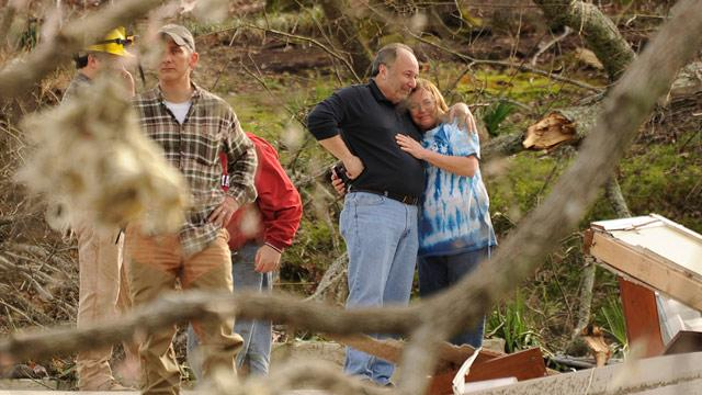 Tornado Miracle: Child in Field Survives Tornado That Killed Family