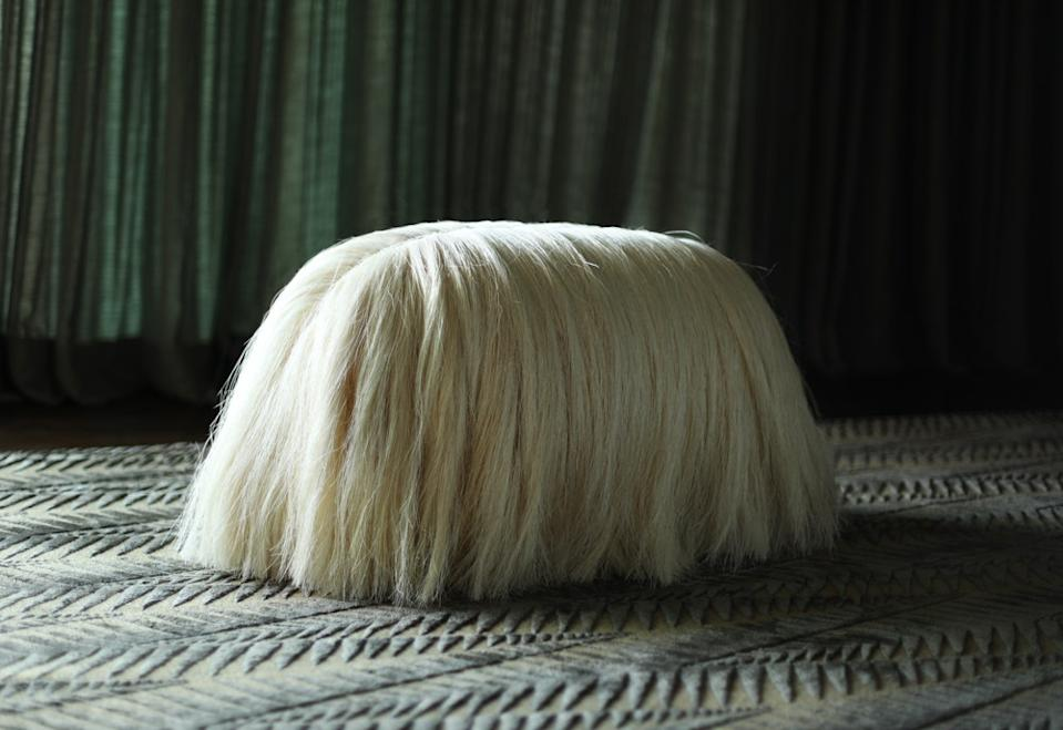 "<h1 class=""title"">Fernando Laposse</h1> <div class=""caption""> Laposse's Dogs are made from sisal, the raw fiber from the leaves of agave plants, which was historically farmed in the Yucatán and used to make rugs, rope, and fishing nets. </div> <cite class=""credit"">Photo: Courtesy of Fernando Laposse</cite>"