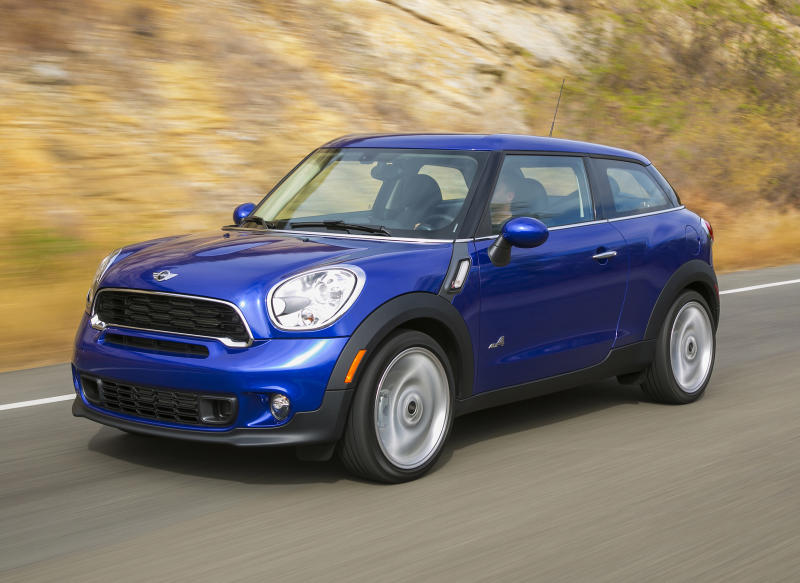 New Mini Cooper Paceman fights 'cute' label