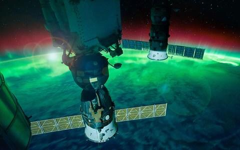 The Aurora Australis, captured by the NASA Space Station - Credit: Getty