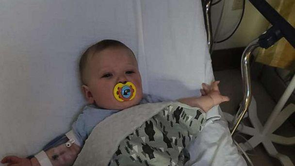PHOTO: Emmett Doster, of South Carolina was diagnosed with COVID-19 at age seven months. (Courtney Doster)