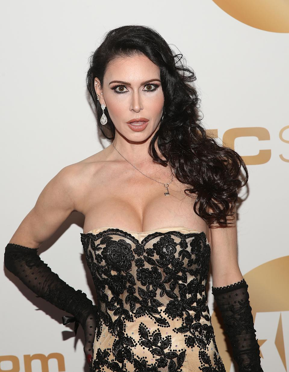 LOS ANGELES, CALIFORNIA - JANUARY 17: Jessica Jaymes attends the 2019 XBIZ Awards on January 17, 2019 in Los Angeles, California. (Photo by Jesse Grant/Getty Images for XBIZ Awards)