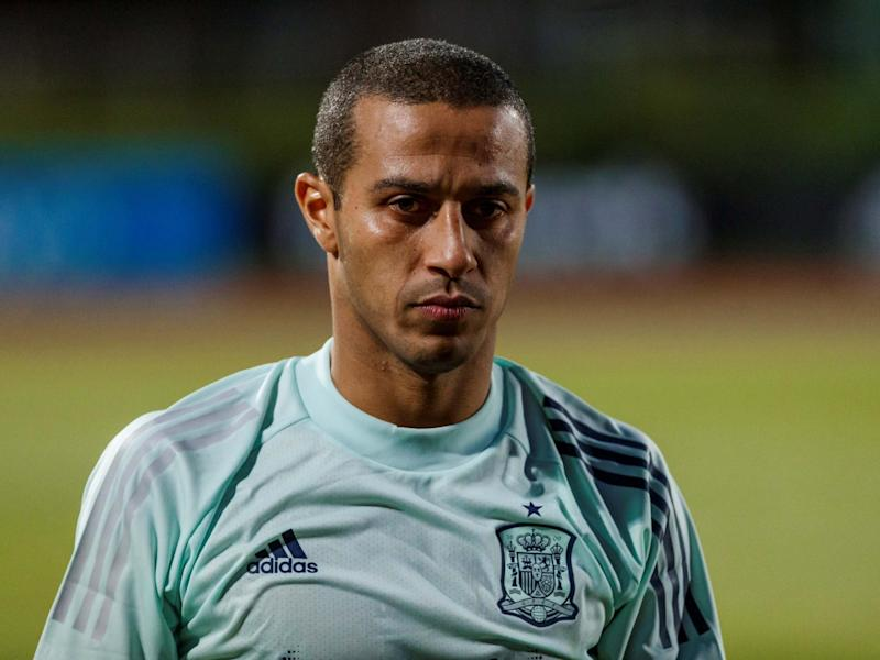 Thiago Alcantara has been offered to Manchester United despite Liverpool's interest: EPA