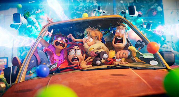 """<p><strong>Release Date:</strong> TBD</p><p>This movie follows the Mitchell family, which embarks on a cross-country road trip to drop off the eldest daughter at film school — and are waylaid by a tech uprising, forcing them to band together to save the world. It's from the creators of <em>The Lego Movie</em>, so expect it to have lots of fast-paced humor. This will come straight to Netflix sometime later in 2021.</p><p><a class=""""link rapid-noclick-resp"""" href=""""https://youtu.be/toBGv7yvIV8"""" rel=""""nofollow noopener"""" target=""""_blank"""" data-ylk=""""slk:WATCH TRAILER"""">WATCH TRAILER</a></p>"""