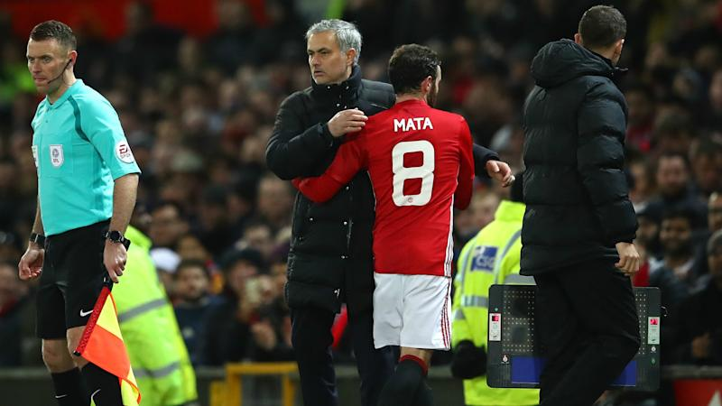 Mata 'has never had bad relationship' with Man Utd boss Mourinho
