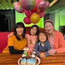 "<p>Lisa Ling's daughter <a href=""https://people.com/parents/lisa-ling-welcomes-daughter-jett/"" rel=""nofollow noopener"" target=""_blank"" data-ylk=""slk:Jett"" class=""link rapid-noclick-resp"">Jett</a> turned 8 on March 8.</p>"