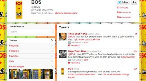 The BOS Twitter page is seeing a surge of tweets from users excited about the free iced teas