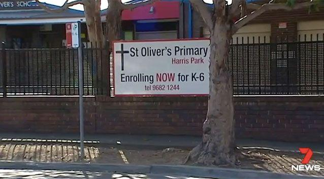 St Oliver's in Harris Park takes security very seriously. Source: 7 News