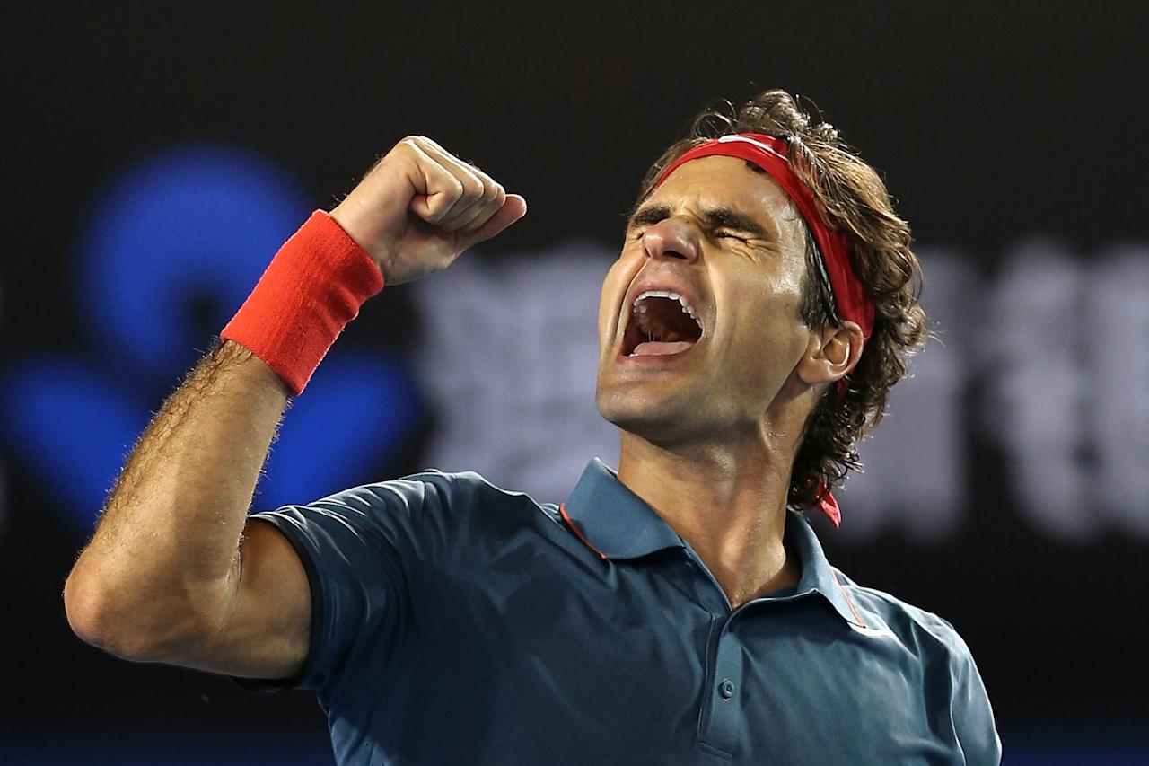 <p>$64 million: Evergreen Roger Federer has climbed back to the top of the tennis world rankings, sharing two of the four Grand Slams this season with long-time rival, Rafa Nadal. The clean-cut Swiss, now 36, makes tens of millions from off-court sponsorship deals. (Clive Brunskill/Getty Images) </p>