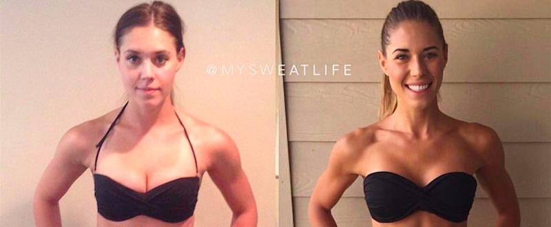 This Fitness Blogger Proves That Self-Love Is So Much More Than Physical Changes