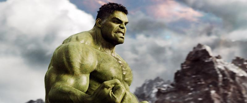 Mark Ruffalo as Hulk in 'Thor: Ragnarok' (Photo: Walt Disney Studios Motion Pictures /Courtesy Everett Collection)