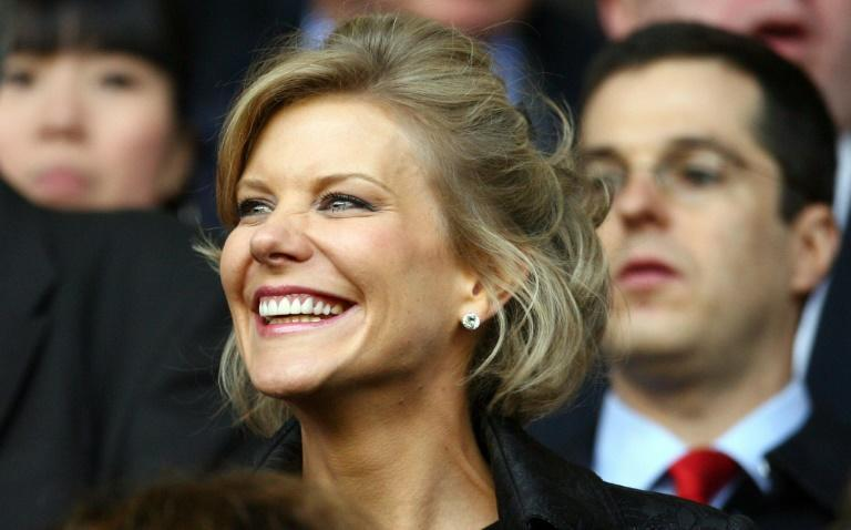 British financier Amanda Staveley is heading a group backed by Saudi investment to take over at Newcastle (AFP/PAUL ELLIS)