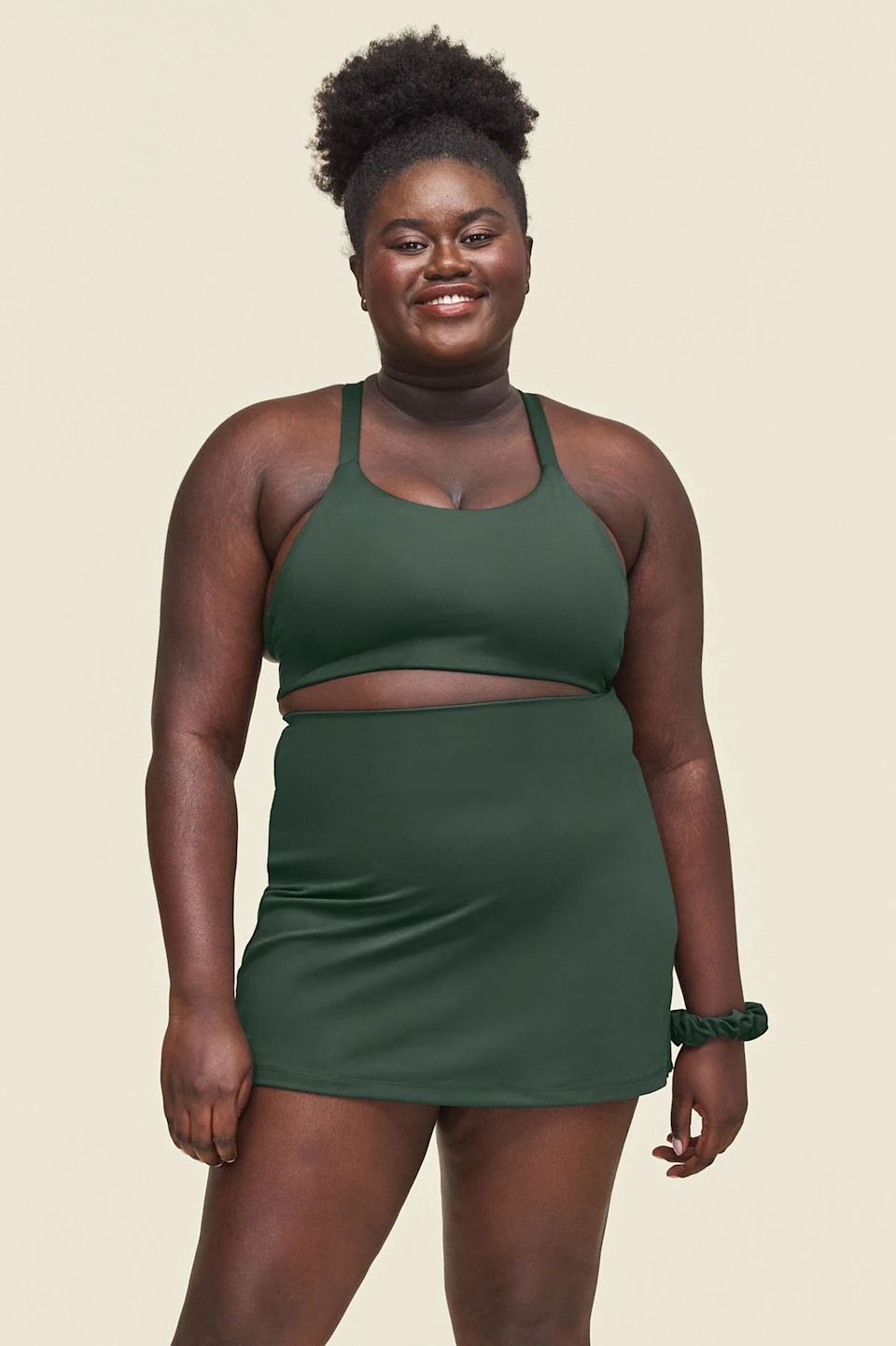 """<h2>Skorts</h2><br>Skorts used to mean """"skirt in the front, shorts in the back."""" But someone had the genius idea to simply build in compression bike shorts under the skirt and make the whole thing look far more seamless while offering coverage. Be sure to grab a workout skirt (or skort, however you call 'em) for your next match. They're stretchy, high-waisted, and ultra attractive — even when you're working up a sweat storm.<br><br><strong>Girlfriend Collective</strong> Moss Skort, $, available at <a href=""""https://go.skimresources.com/?id=30283X879131&url=https%3A%2F%2Fwww.girlfriend.com%2Fproducts%2Fmoss-skort%3Fvariant%3D32199229341759"""" rel=""""nofollow noopener"""" target=""""_blank"""" data-ylk=""""slk:Girlfriend Collective"""" class=""""link rapid-noclick-resp"""">Girlfriend Collective</a>"""
