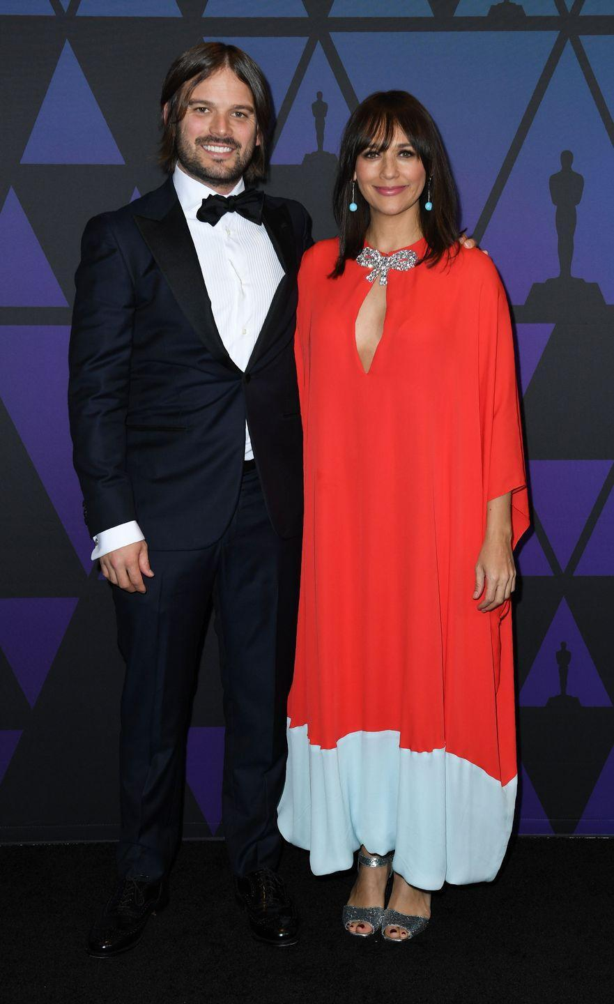 <p>Rashida Jones gave birth to her and her partner Ezra Koenig's son, Isaiah, in August 2018. But she kept her pregnancy and birth a secret up until after it happened. Impressive.</p>