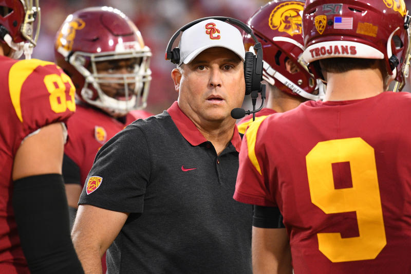 College Football Clay Helton S Tenure At Usc May Be Done