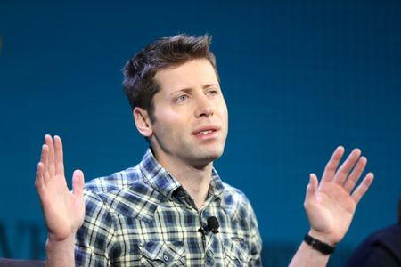 FILE PHOTO - Sam Altman, President of Y Combinator, speaks at the Wall Street Journal Digital Conference in Laguna Beach, California, U.S., October 18, 2017. REUTERS/Lucy Nicholson
