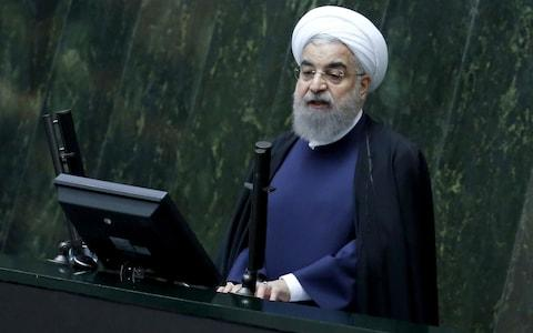 Iran's President Hassan Rouhani - Credit: AFP