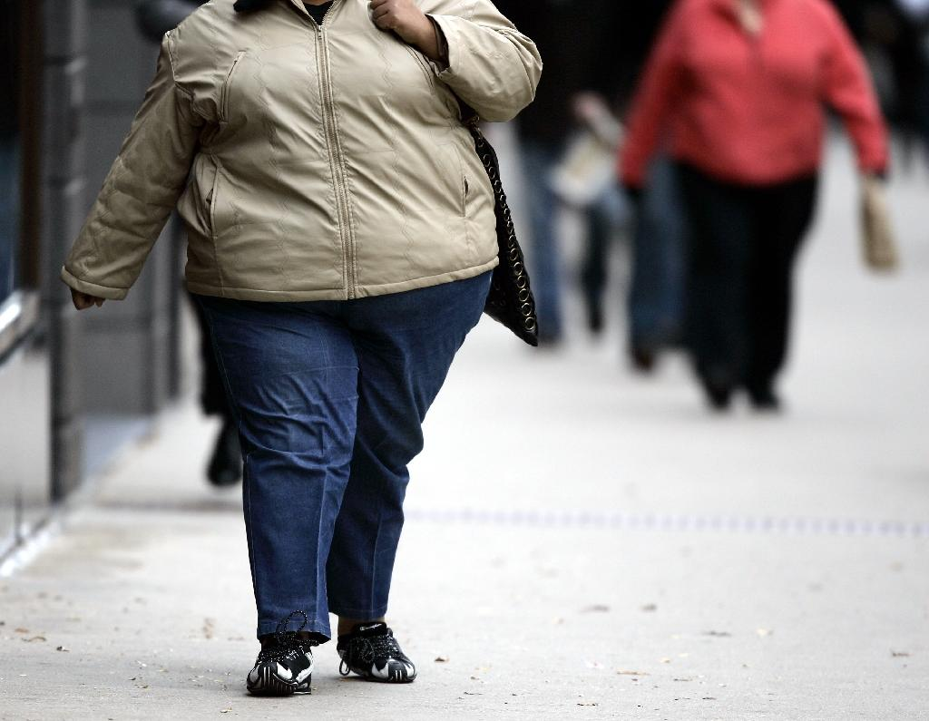 European Heart Journal study says being overweight or obese poses a risk of heart disease (AFP Photo/JEFF HAYNES)